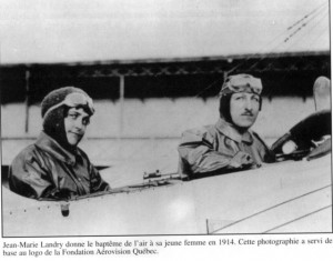 Jean-Marie Landry et Hervina