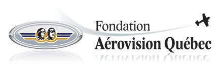 Logo de la fondation aérovision québec