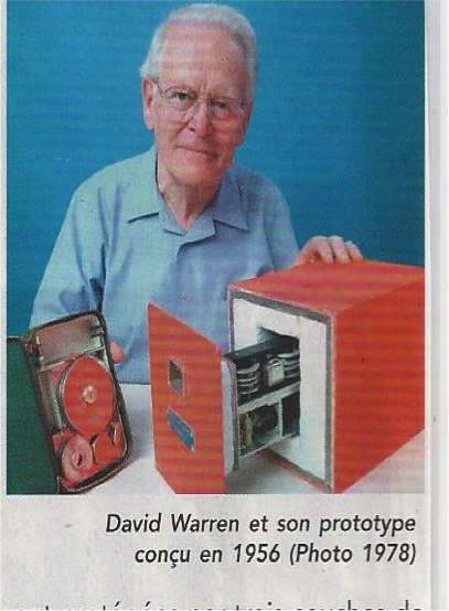 David Warren, et son prototype