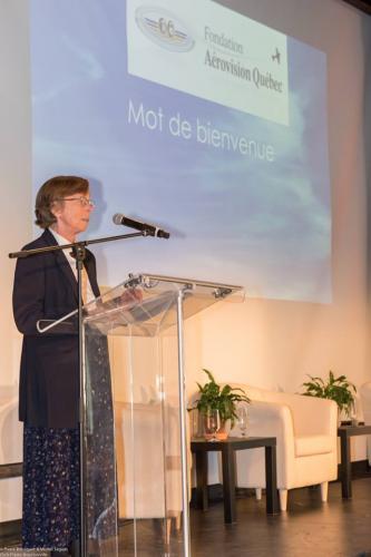 Mme Kathy Fox, présidente de la soirée 2014